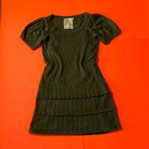 Twelve by Twelve Short Sleeve knit Mini dress